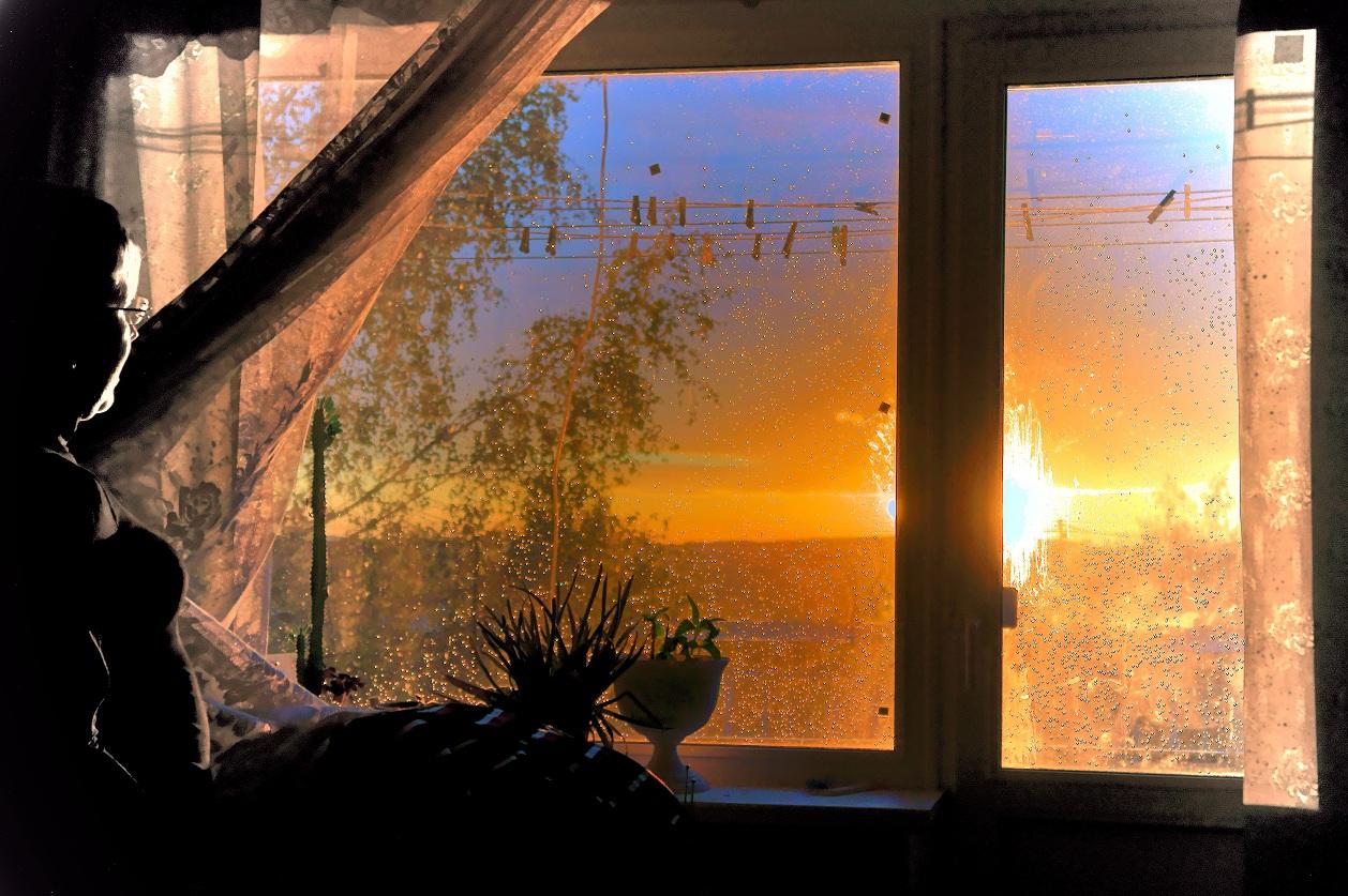 Эро за окном 4 фотография