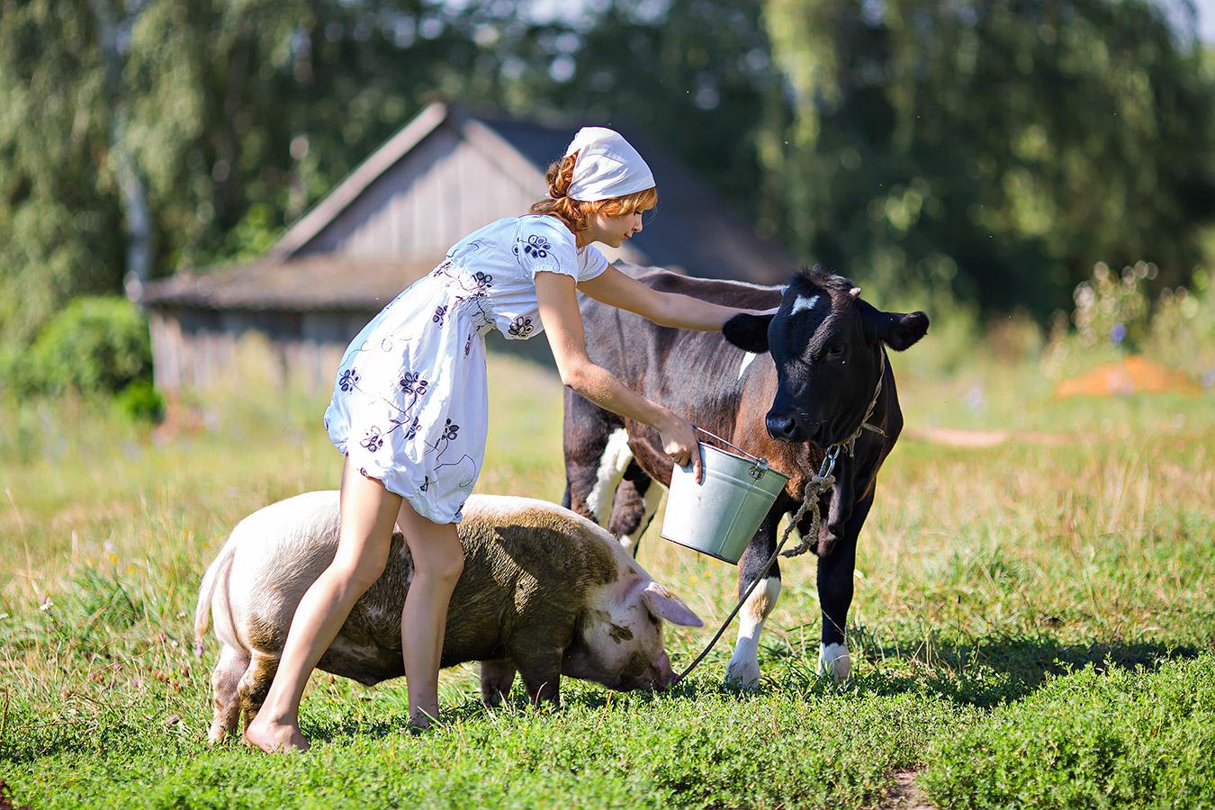 Фото сельские женщины 2 фотография