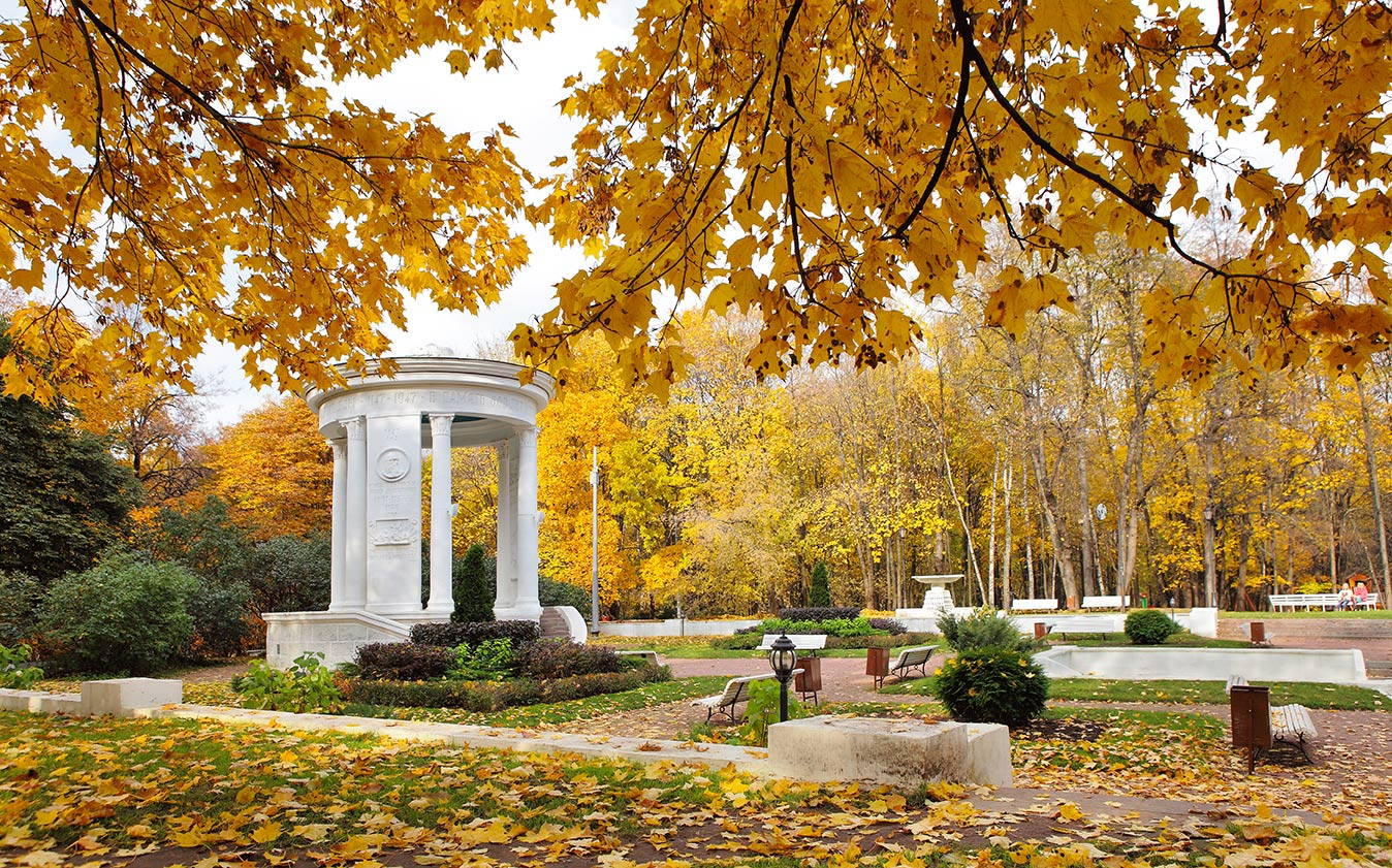 Москва-нескучный сад фото
